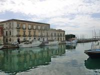 Syrakus (Spaziergang in die Altstadt auf der Insel Ortigia)