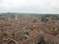 Blick vom Torre dei Lamberti, Verona