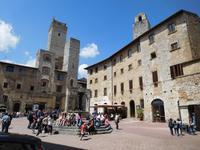 San Gimignano Zisternenplatz