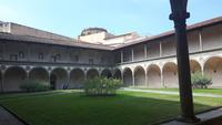 Florenz (Kirche Santa Croce - Kreuzgang)
