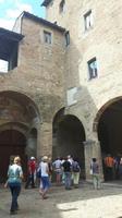 San Gimignano (Innenhof des Rathauses)