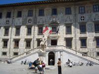 nicht nur  die Piazza dei Miracoli zeigt in Pisa von der Baukunst der Renaissance
