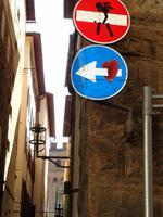 Was sich der Florentiner Künstler wohl dabei gedacht hat?