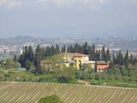 toscanische  Landschaft