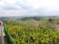 Hügel der Toscana