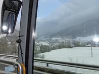 Zum Glück wurde es später- hinter dem Brenner- wieder sommerlich.
