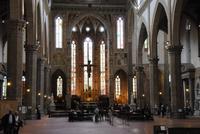 Innenraum in Santa Croce