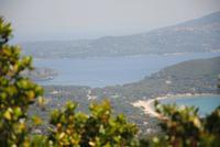 Blick auf gleich zwei Buchten auf Elba