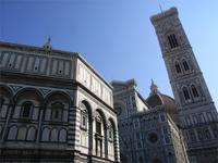 Florenz, Baptisterium und Dom