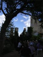 San Gimignano, Blick von der Festungsruine