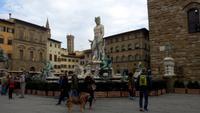 Florenz, Stadtführung mit Angela,Neptunbrunnen
