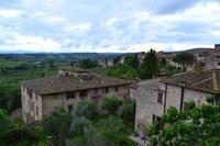 San Gimignano - Blick von der Stadtmauer