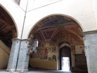 Fresken in den Gewölben
