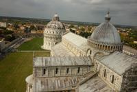 08.10.2014 Pisa, Blick vom Schiefen Turm