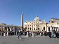 auf dem Petersplatz