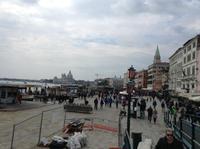 Die Promenade am Dogenpalast