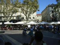 Avignon, Uhrenplatz