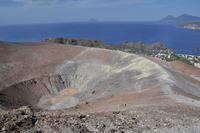 Wanderung auf Vulcano zum Gran Cratere - Am Gipfel
