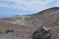 Wanderung am Gran Cratere, Vulcano - Vulkanbombe