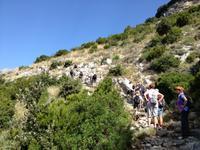 auf dem Götterweg nach Positano