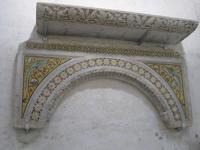 Im Dom von Amalfi Überreste von antiken byzantinischen Ambonen