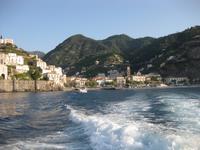 Auf geht's nach Capri - wir verlassen Minori