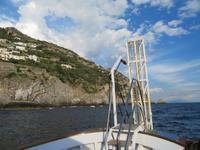Schifffahrt von Positano nach Minori