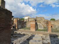 Erkundungen in Pompeji