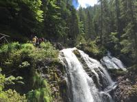 152 Wanderung zu den Vallesinella-Wasserfällen