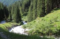 Wanderung durch das Val Di Rabbi