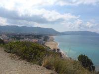 Italien, Blick auf Santa Maria di Castelabate