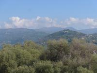 Italien, Agropoli, Blick zum Monte Stella