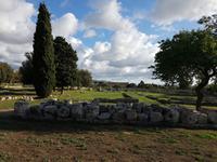 Italien, Paestum, Ausgrabungen