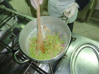 Zubereitung der Puffbohnen