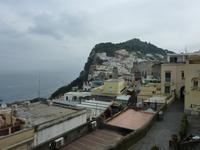Blick auf die Dächer von Capri