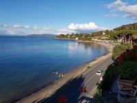 Italien, Argentario, Blick vom Hotel Baia d Argento