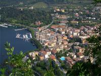 Blick auf Garda