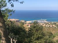 Blick auf den Hafen von Tropea