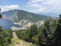 Wanderung auf der Insel Palmaria - Blick auf Portovenere
