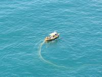 Fischerboot vor Palmaria