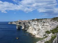 Kreideküste bei Bonifaccio