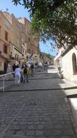 Aufstieg in die Oberstadt von Bonifacio