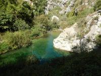 Hochebene von Pantálica - Flusslauf