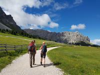 Wandern in Südtirol (Italien) – Dolomiten Wanderreise in Sterzing Astjoch – Sellajoch – Seiser Alm – Gemeinschaftsalm Fane – Burkhardtsklamm – Ratschinger Almenweg – Tatschsp (82)