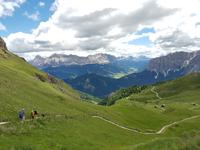 Wandern in Südtirol (Italien) – Dolomiten Wanderreise in Sterzing Astjoch – Sellajoch – Seiser Alm – Gemeinschaftsalm Fane – Burkhardtsklamm – Ratschinger Almenweg – Tatschsp (104)