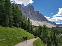 Wandern in Südtirol (Italien) – Dolomiten Wanderreise in Sterzing Astjoch – Sellajoch – Seiser Alm – Gemeinschaftsalm Fane – Burkhardtsklamm – Ratschinger Almenweg – Tatschsp (137)