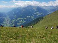 Wandern in Südtirol (Italien) – Dolomiten Wanderreise in Sterzing Astjoch – Sellajoch – Seiser Alm – Gemeinschaftsalm Fane – Burkhardtsklamm – Ratschinger Almenweg – Tatschsp (169)