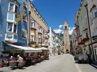 Wandern in Südtirol (Italien) – Dolomiten Wanderreise in Sterzing Astjoch – Sellajoch – Seiser Alm – Gemeinschaftsalm Fane – Burkhardtsklamm – Ratschinger Almenweg – Tatschsp (273)