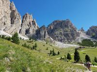 Wandern in Südtirol (Italien) – Dolomiten Wanderreise in Sterzing Astjoch – Sellajoch – Seiser Alm – Gemeinschaftsalm Fane – Burkhardtsklamm – Ratschinger Almenweg – Tatschsp (329)