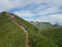 Wandern in Südtirol (Italien) – Dolomiten Wanderreise in Sterzing Astjoch – Sellajoch – Seiser Alm – Gemeinschaftsalm Fane – Burkhardtsklamm – Ratschinger Almenweg – Tatschsp (434)